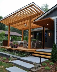 Deck With Pergola Floating.Custom Wood Deck With Pergola By Creative Wood Products . 27 Beautiful Small Swimming Pool Ideas To Get Inspired . Concrete Footings For Pergola
