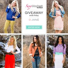 I just entered this promotion from Jane and SexyModest Boutique! #jane #modestshoppin