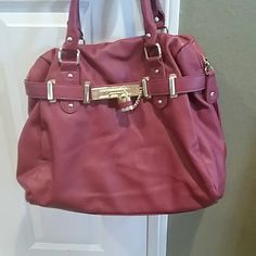 EUC Steve madden handbag awesome maroon excellent condition Steve Madden Bags