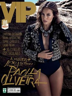VIP Magazine [Brazil] (November 2013) Paolla Oliveira