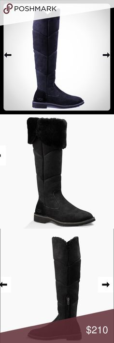 Sold out Sibley over the knee boots These sold out on the Ugg site! Purchased for my daughter and they don't fit! I love mine! Super warm and water resistant! UGG Shoes Over the Knee Boots