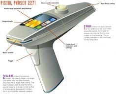 star trek photon torpedo diagrams - Google Search Star Trek Phaser, Star Wars, Stars, Weapons, Gadgets, Tools, Google Search, Image, Weapons Guns
