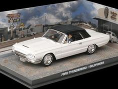 Ford Thunderbird Convertible Diecast Model Car from James Bond Goldfinger @ niftywarehouse.com #NiftyWarehouse #Nerd #Geek #Entertainment #TV #Products