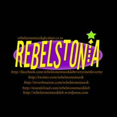 Join Rebels'tone Muzik Lab on Reverbnation and Then Share It With Your Family & Friends.   #REBELSTONIA