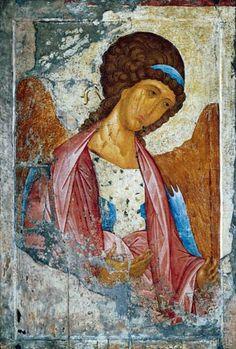 Andrej Rublev - Der Erzengel Michael (um 1370 - 1430) Kunststil: Gotik Werk: Der Erzengel Michael Archangel Michael