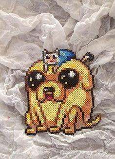 Adventure time perler