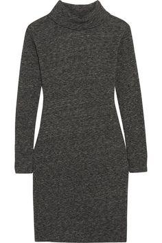 Madewell | Knitted turtleneck sweater dress | NET-A-PORTER.COM