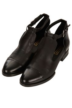 topshop- katz cut out strap shoes