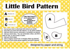 All sizes | Little Birds Pattern | Flickr - Photo Sharing!
