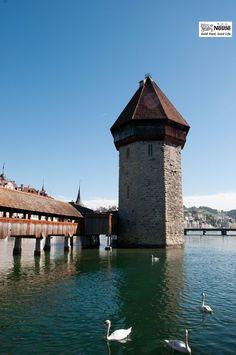 スイス、ルツェルンのカペル橋です ♪