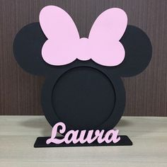 Mickey Mouse Crafts, Minnie Mouse Theme Party, Mickey Mouse Clubhouse Birthday, Minnie Mouse Pink, Minnie Birthday, Disney Crafts, Diy Crafts For Gifts, Easy Diy Crafts, Crafts For Kids