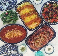 The glory of, Iranian food.