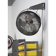 Q Standard Garage Fan — 18in., Model# 18923 | Buy Item# 250630 now for only $89.99