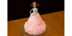 Barbie Cake 101  Its Easier Than You Think! I'm thinking Elsa from Frozen?