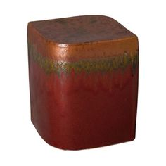 This Aero ceramic garden stool with a Pomegranate glaze is the perfect touch to any indoor or outdoor space. It can be used as a small side table, an extra-seat or as a planter pedestal. This collection offers the best combination of design and glazes. Ceramic Garden Stools, Scandinavian Dining Chairs, Big Chair, Patio Accessories, Living Room Chairs, Pomegranate, Natural Light, Accent Decor, Ceramics
