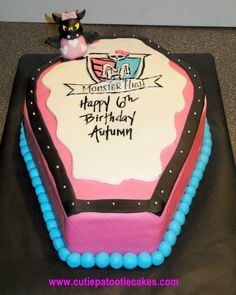 monster high cakes coffins - Google Search