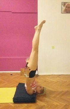 90 best iyengar yoga inversions images  yoga inversions