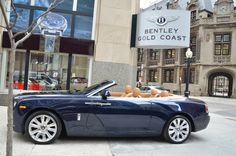 Used 2016 Rolls-Royce Dawn Stock # in Chicago, IL at Bentley Gold Coast, IL's premier pre-owned luxury car dealership. Come test drive a Rolls-Royce today! Rolls Royce Dawn, Bentley Rolls Royce, Luxury Car Dealership, Super Sport Cars, Dirtbikes, Driving Test, Gold Coast, Travel Style, Hot Wheels