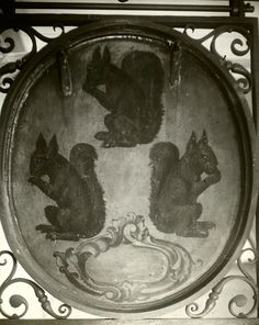 The Signs of Old London | Spitalfields Life The sign of the three squirrels in Fleet St