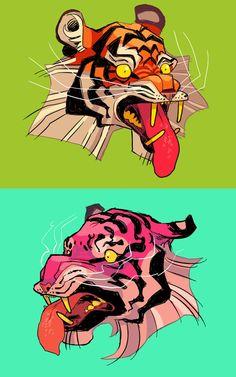 tiger tiger by Kichaa
