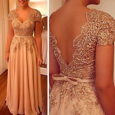 Plus Size Prom Dress, Charming Prom Dress, A Line V Neck Evening Dress, Beaded Women Formal Dress Shop plus-sized prom dresses for curvy figures and plus-size party dresses. Ball gowns for prom in plus sizes and short plus-sized prom dresses Pageant Dresses For Teens, African Prom Dresses, Formal Dresses For Women, Pageant Gowns, Evening Dresses With Sleeves, Bride Groom Dress, Tulle Prom Dress, Beautiful Dresses, Ideias Fashion