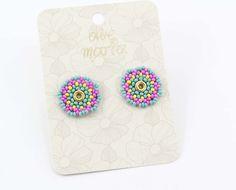 TOPOS COLOR - Comprar en accesorios Ave Maria Hail Mary, Stud Earrings, Accessories, Colors