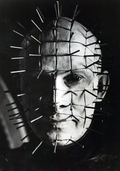 Pinhead from Hellraiser is a good example of how cosmetic surgery is best used in moderation.