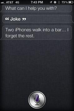 Drunk Siri
