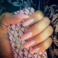 Nude Pink Stiletto Nails  @MargaritasNailz