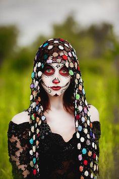 Dallas Portrait Photographer - Creative Shoot - Dia De Los Muertos: