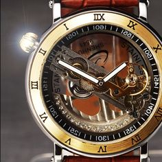 39.99$  Watch here - https://alitems.com/g/1e8d114494b01f4c715516525dc3e8/?i=5&ulp=https%3A%2F%2Fwww.aliexpress.com%2Fitem%2FGorgeous-Skeleton-Mechanical-Mens-Watch-Vintage-Crystal-Sided-Hollow-Dial-Automatic-Leather-Wristwatch-Luxury-Relogio-Masculino%2F32659902258.html - Luxury Rhinestone Skeleton Watches Men Automatic Self-wind Men's Watches Fashion Casual Watches Leather Band Relogio Masculino