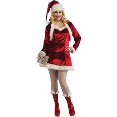 Fiebre Santas Little Helper Cheerleader Costumes