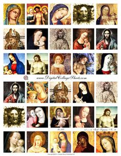 Instant Download Religious 1.5 Inch by DigitalCollageSheets, $3.95
