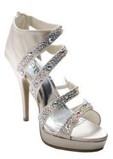 Natasha by Sizzle Nude Prom Shoes