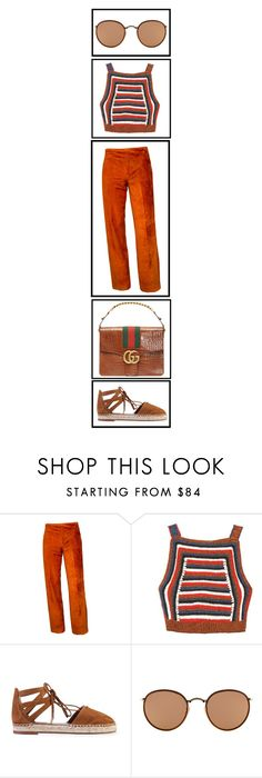 """Jamaica"" by shes-a-rainbow ❤ liked on Polyvore featuring Rachel Comey, Aquazzura and Ray-Ban"
