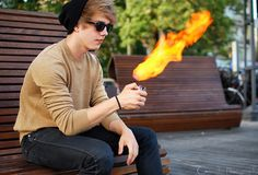 ''The little flame''  That zippo had power  See more here -> http://lookbook.nu/user/2151530-Patryk-D/looks