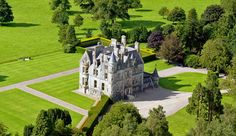 As much as I love Blarney Castle, Blarney House is also a worthy architectural delight.