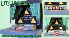 Zelda LttP Diorama Papercraft by squeezycheesecake on DeviantArt