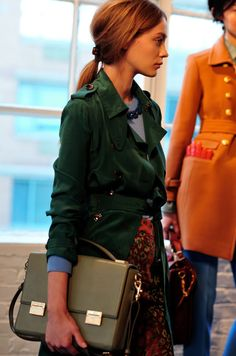 J. Crew Fall WInter 2011 collection! I want the green coat.