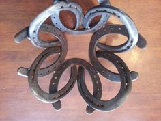 horseshoe decorative bowl. $25.00, via Etsy.