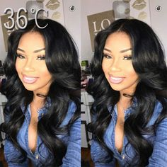 84.00$  Buy now - http://aliqks.worldwells.pw/go.php?t=32721388632 -  Middle Part Full Lace Wig Wavy Lace Front Wig Glueless Full Lace Wig Body Wave 100% Virgin Malaysian Human Hair Wigs In Stock 84.00$