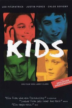 Larry Clark is the cult film-maker, photographer and counterculture figure of the whose exploration of films about adolescent behaviour shaped the modern zeitgeist of youth culture beyond recognition Kids Movie 1995, 1995 Movies, Kid Movies, Drama Movies, Drama Film, Movies Free, Movies 2019, Larry Clark, Movies And Series