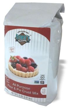 Gluten Free Organic All Purpose Flour  Pie Crust Mix by Arnels Originals 5 lbs Verified NonGMO Certified Organic Certifed GlutenFree * Want additional info? Click on the image.