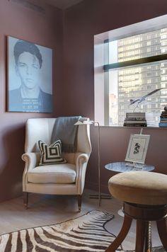 Manhattan Interior Design Study Project #EricCohler #InteriorDesign #NYC #study #design #home #office