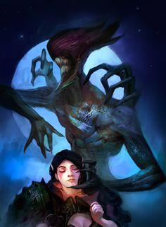 Bane and lanaya by Cebob