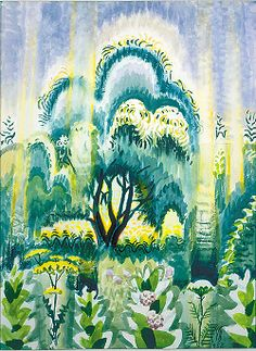 Charles Burchfield - July Sunlight Pouring Down