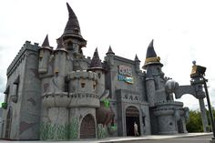 The Castle of Chaos on the Parkway in Pigeon Forge. #Pigeon #Forge #Tennessee #vacation #attractions #fun #family #whattodo
