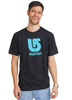 BURTON LOGO VERTICAL T-SHIRT BLACK www.fourseasonsclothing.de  #burton #tshirt #shirt #new #streetwear