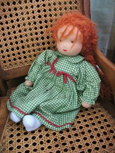 Waldorf Doll by Wyld_Hare, via Flickr
