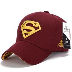 d64e39901e2 2015 Brand Superman Baseball Cap Unisex Adjustable Cotton Snapback Caps Men  Sport Hats for Women Outdoor